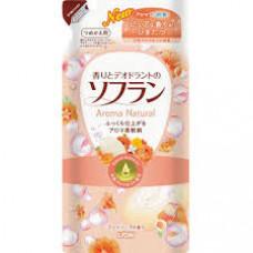 Кондиционер для белья Lion Soflan Aroma Natural с ароматом цветов и туалетного мыла (м.у) 500 мл