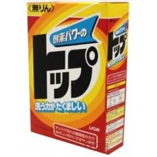 Lion Top Стиральный порошок для трудновыводимых пятен Новая сила ферментов 500 гр
