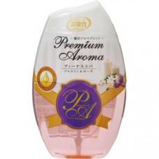 Жидкий ароматизатор для туалетной комнаты ST Shoushuuriki Premium Aroma Жасмин и Роза 400 мл