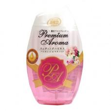 Жидкий ароматизатор для туалетной комнаты ST Shoushuuriki Premium Aroma Фиалка и Магнолия 400 мл