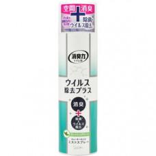 Освежитель воздуха аэрозоль для туалетной комнаты ST Shoushuuriki Свежая зелень 280 мл
