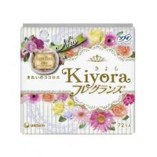Unicharm Sofy Kiyora Happy Floral Гигиенические прокладки ежедневные 14 см 72 шт