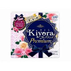 Unicharm Sofy Kiyora Premium Гигиенические прокладки ежедневные с ароматом роз14 см 72 шт