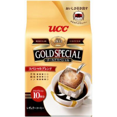 Ajinomoto UCC Gold Special Drip Coffee Special Blend Кофе натуральный молотый 10 дрип-пакетов х 7 гр