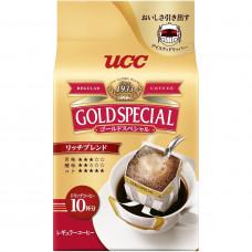 Ajinomoto UCC Gold Special Drip Coffee Rich Blend Кофе натуральный молотый 10 дрип-пакетов х 7 гр