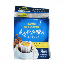 Ajinomoto UCC Master\'s Coffee Mild Blend Кофе натуральный молотый средней обжарки 8 дрип-пакетов х 7 гр