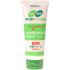 Kumano Pharmaact AcneControl Medicated Face Foam Пенка для умывания Контроль акне 130 гр