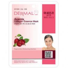 Dermal Collagen Essence Mask Acerola Маска коллагеновая и экстрактом плодов ацеролы 1 шт 23 гр 016