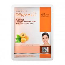 Dermal Collagen Essence Mask Apricot Маска коллагеновая с экстрактом плодов абрикоса 1 шт 23 гр 018