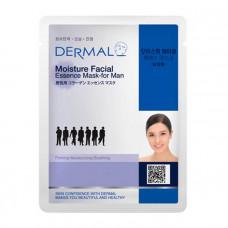 Маска коллагеновая  Dermal Moisture Facial Essence Mask for Men увлажняющая для мужчин 1 шт 23 гр