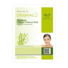 Маска коллагеновая Dermal Collagen Essence Mask Bamboo с экстрактом бамбука 1 шт 23 гр