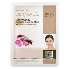 Маска коллагеновая Dermal Collagen Essence Mask Bee Venom с пчелиным ядом 1 шт 23 гр
