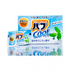 Kao Bub Cool Mint Соль для ванны в таблетках 40 гр х 12 шт