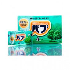 Kao Bub Соль для ванны в таблетках Лес (вода зеленая) 40 гр х 20 шт
