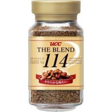 Ajinomoto UCC The Blend 114 Кофе натуральный растворимый гранулированный Мягкий вкус (банка) 135гр
