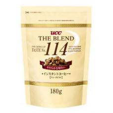 Ajinomoto UCC The Blend 114 Кофе натуральный растворимый гранулированный Мягкий вкус (Смесь 114) (м.у.) 180 гр