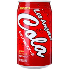 Напиток безалкогольный газированный Sangaria Los Angeles Cola Кола 350 мл (банка металлическая)