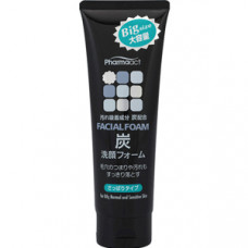 Kumano Pharmaact Facial Foam Charcoal Пенка для умывания лица с древесным углем 160 гр
