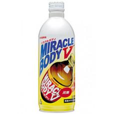 Напиток безалкогольный газированный энергетический Sangaria Miracle Body V 500 мл (бутылка металлическая)