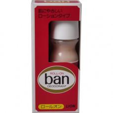 Lion Ban Roll On Дезодорант-антиперспирант шариковый Без запаха 30 мл