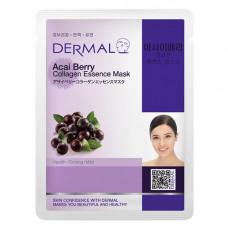 Dermal Collagen Essence Mask Acai Berry Маска коллагеновая с экстрактом ягоды асаи 1 шт 23 гр 036