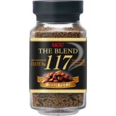 Ajinomoto UCC The Blend 117 Кофе натуральный растворимый гранулированный Крепкий вкус (Смесь 117) (банка) 135 гр