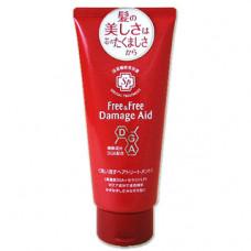 Lion Free&Free Damage Aid Тритмент восстнавливающий для поврежденных волос Цветочный аромат 180 гр