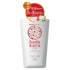 Lion Hadakara Жидкое мыло для тела увлажняющее Изысканный цветочный букет 500 мл